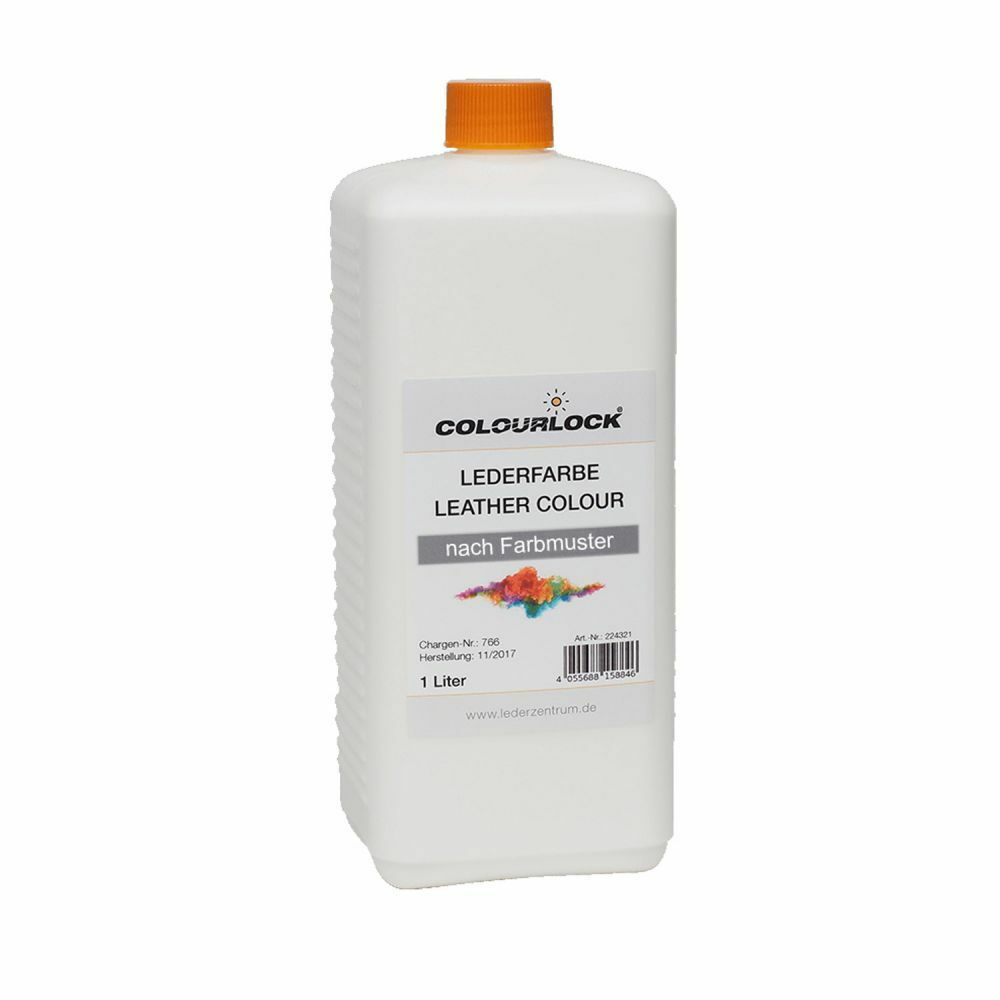 COLOURLOCK® Lederfarbe 1 Liter Beldivani CAT 150 soft 5500 schwarz
