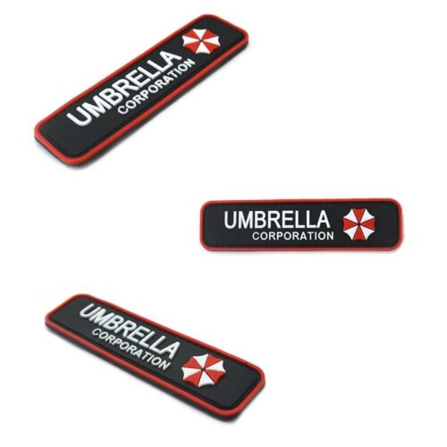 Umbrella Corporation Klett Patch B-Ware Paintball Resident Evil Gaming Merch Funsport