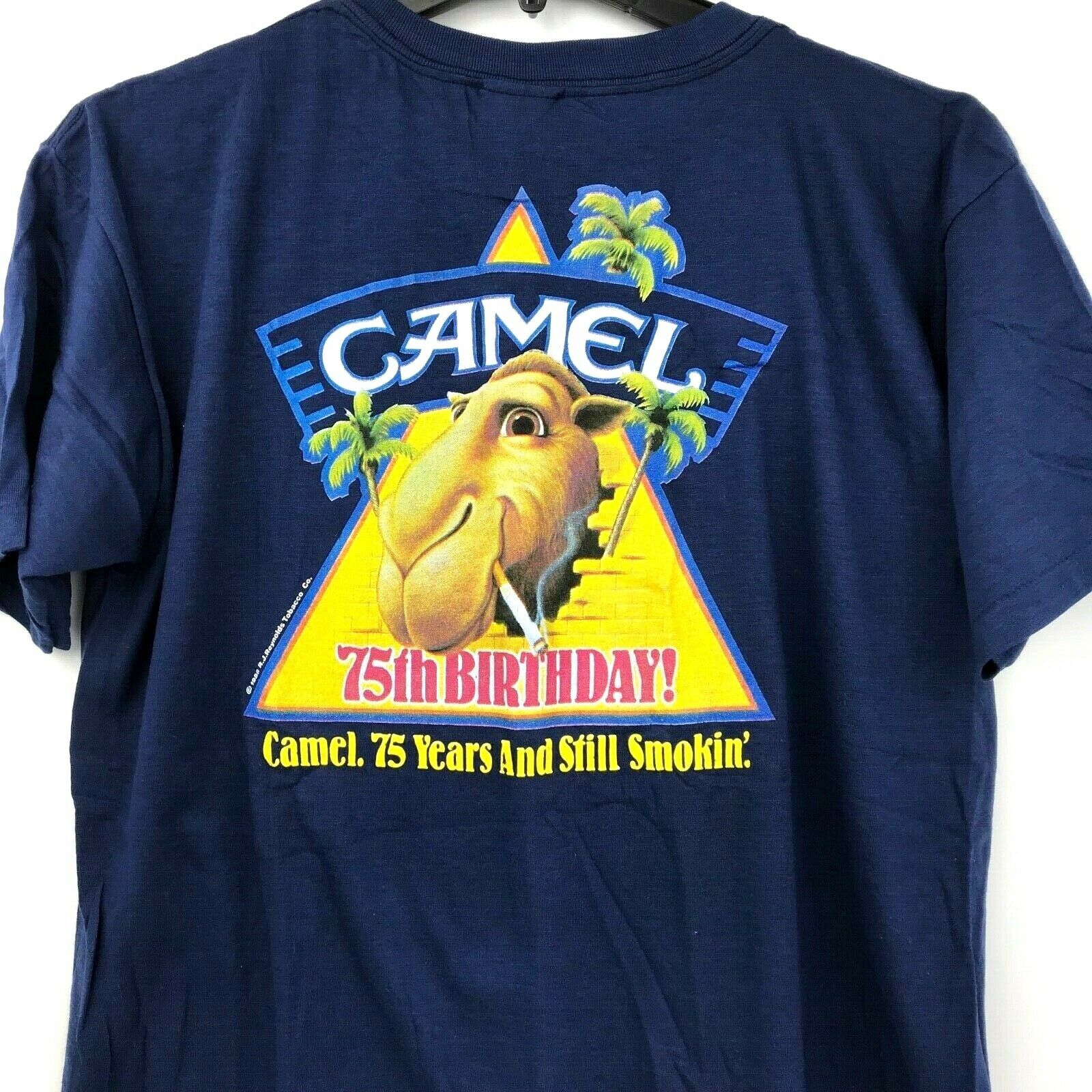 75th Anniversary Camel T Shirt 1988 Vintage Authentic RJ Reynolds Tobacco Co