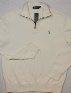 9acc04712 Polo Ralph Lauren Jersey Pullover 1 2 Half-Zip Size L Large NWT ...
