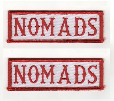 OUTLAW BIKER GANG HOG BIKER RIDER 1/%er PATCH WHEN IN DOUBT KNOCK THEM OUT X 2