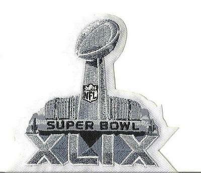 Super Bowl 49 XLIX Patch Seattle Seahawks Iron on or sewn 2015 lot of 50