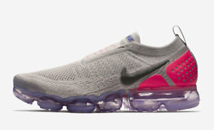 Details about 2018 Nike Air Vapormax Flyknit MOC 2 SZ 9 Moon Particle Solar  Red NK AH7006-201