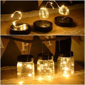 2M-LED-Solarlampe-im-Einmachglas-Garteleuchte-Terrasse-Schnur-Licht-Solarlecture