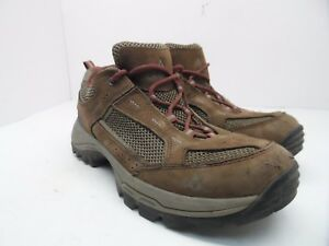 99e392465f5 Vasque Women's Breeze 2.0 Low Gore-Tex Hiking Shoe Slate Brown/Red ...