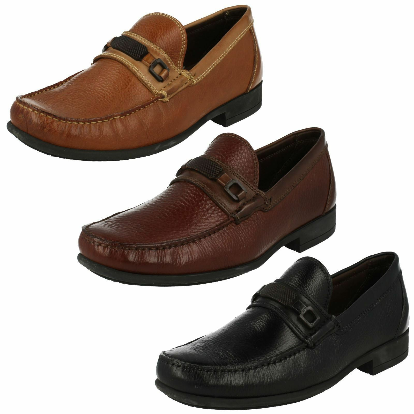 Mens Lins leather slip on shoe by Anatomic £79.00