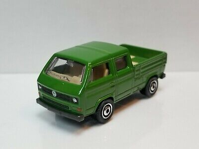 1979-1992 VW VOLKSWAGEN TYPE 2 T3 DOUBLE CAB PICKUP 1:64 SCALE DIECAST MODEL CAR