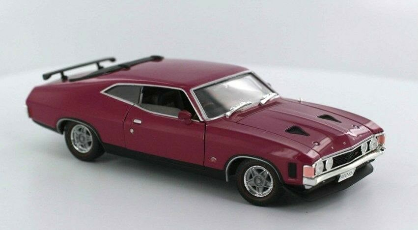 Ford Falcon XA RPO83 Hard Top Wild Plum 1 32 Scale Die Cast Model Car Boxed New