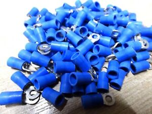 2Pcs 1000A Open Copper Battery Crimp Terminal Wire Lugs 21mm Ring for 3//4 Stud