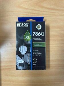 Epson 786XL Genuine Black Ink Cartridge C13T787192 Workforce pro