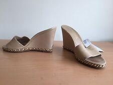 Chanel Summer Heels, Beige, Nude, Size 38,5 Uk 5 Stunning!