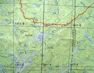 Quebec Topographic Map.Canadian Government Topographic Map Tomasine Quebec Quadrant 1951