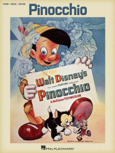 Pinocchio Sheet Music from the Full Length Feature Production Piano 000294252