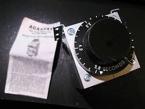 Timing-Relay-Agastat-7024AB-4-Pole-Model-120VAC-Coil-Time-0-5-5-0-S-NOS