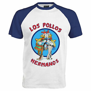 Breaking-Bad-inspired-039-Los-Pollos-Hermanos-039-Urban-Streetwear-T-Shirt