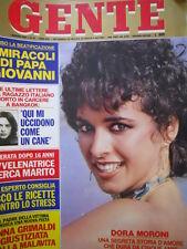 GENTE n°18 1981 Dora Moroni - Uto Ughi - Nadia Cassini - Anna Grimaldi [C54]
