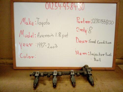 Injectors 1997-2003 Toyota Avensis 1.8 Petrol Injector Fuel Rail