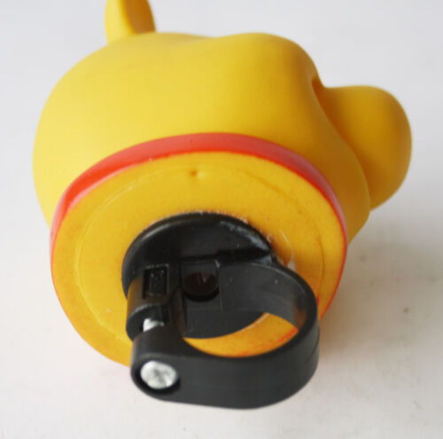 RARE VINTAGE 90/'S WINNIE POOH BICYCLE AIR SQUEEZE HORN BELL KIDS CYCLE BIKE NEW