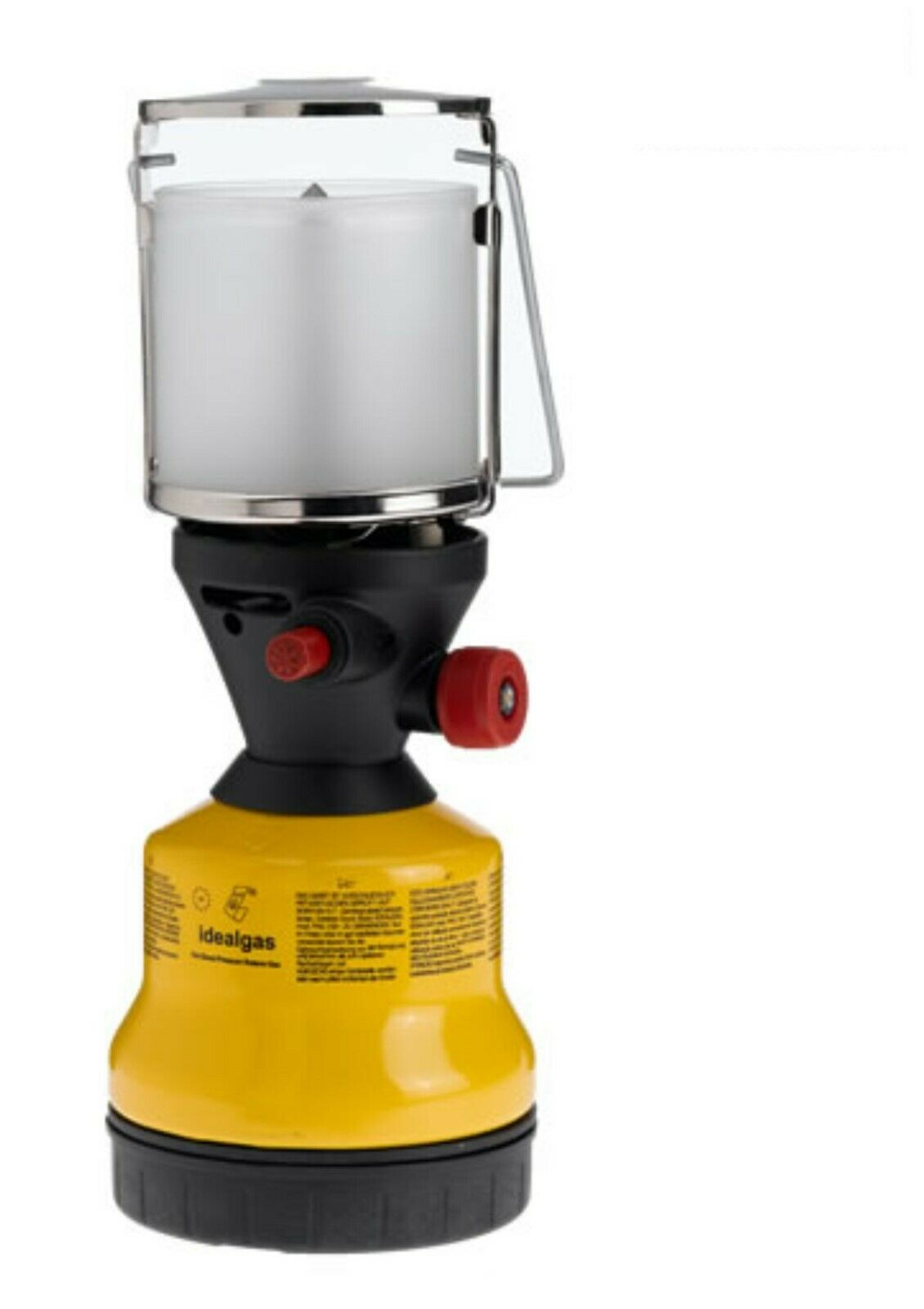 Gaslampe Campinglampe MIT PIEZOZÜNDER Campingleuchte IDEALGAS-Laterne  950040600  | Wunderbar