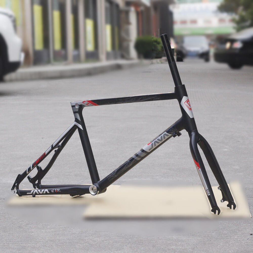 JAVA  Aluminum Frame Fork 20  451 406 Minivelo Bicycle Frameset Disc Brake 1 1 8   fast shipping to you