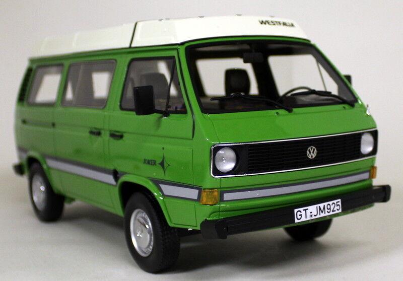 CLASSIXXS 1 18 Scale VW Volkswagen t3 Westfalia Joker vert resin cast Model Van