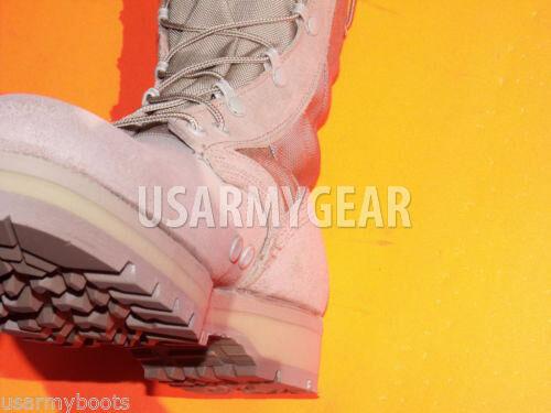 negozio outlet US Army Desert Work Combat stivali Military Military Military Tan Vibram Sole Made in USA GI  Nuova lista