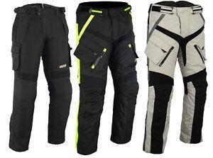 Moto-Pantalon-Messieurs-Biker-textilhose-Sportif-Motard-Textile-Pantalon-nouveau-T-xs-5xl