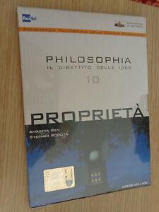 DVD-N-10-PHILOSOPHIA-IL-DIBATTITO-DELLE-IDEE-PROPRIETA-039-AMARTYA-SEN-RODOTA-039