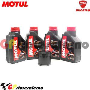 TAGLIANDO-OLIO-FILTRO-MOTUL-7100-10W30-DUCATI-998cc-998-BAYLISS-2003