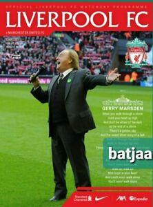 Liverpool v Manchester United 20/2021 PREMIER LEAGUE PROGRAMME 17/1/21 LAST ONE