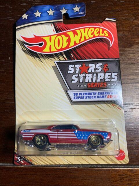 2020 Hot Wheels Stars and Stripes Series '68 Plymouth Barracuda Super Stock Hemi