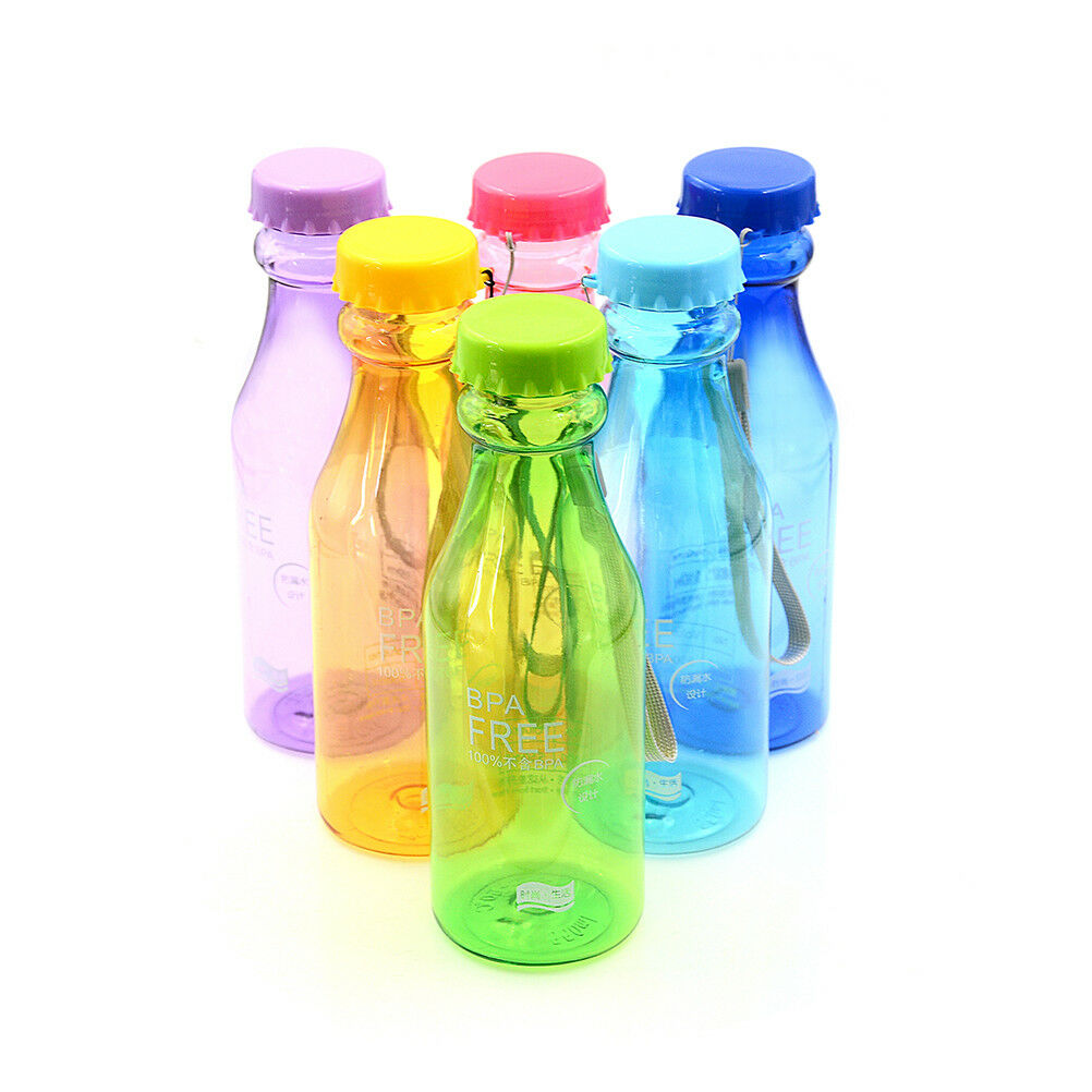 500ml bpa free portable water bottle leakproof plastic kettle for travel ZT