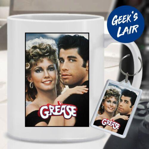 Movie Poster • Great Gift • Dishwasher Safe • 10oz Ceramic Mug Grease Mug
