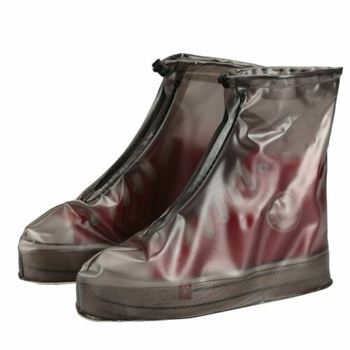 Motorcycle Bike Boot Shoe Cover For Rainy Snowing Rain Wear Reusable Waterproof