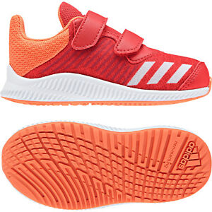 outlet store 91b21 7ad1c Image is loading Adidas-Girls-Running-Shoes-FortaRun-Infants-Kids-Training-