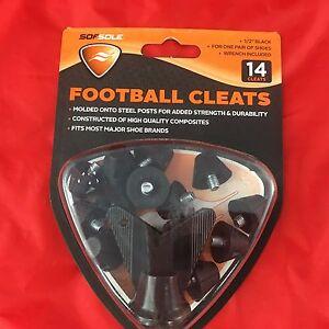 Sof Sole Nylon Football Cleat Football
