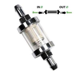 Universal-Kraftstofffilter-8mm-Benzinfilter-Universalfilter-Motorrad-KFZ-Auto