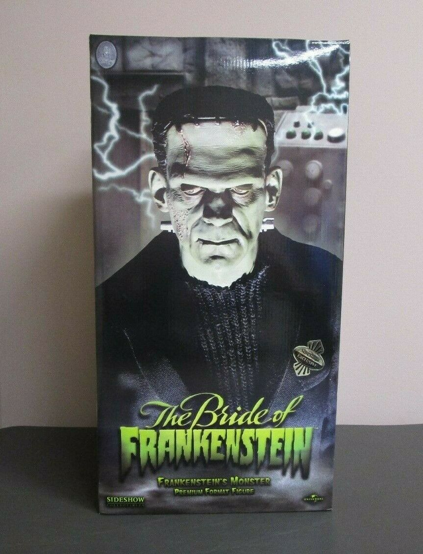 The Bride of Frankenstein PREMIUM FORMAT SIDESHOW Collectibles Exclusive  100