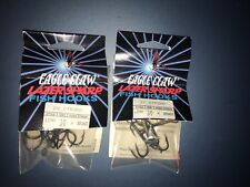 45 hooks BRONZE, -15pks EAGLE CLAW LAZER SHARP FISH HOOKS,HEAVY WIRE SIZE 4 3