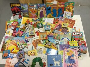 10 LBS of Childrens BABY TODDLER DAYCARE BOARD BOOKS Chunky Books *RANDOM MIX*