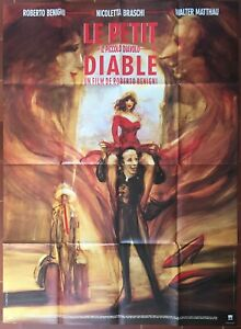 Plakat Le Klein Teufel Walter Matthau Roberto Benigni 120x160cm