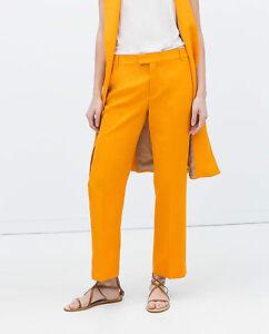 arancioni Xs Zara 2478679615012 tagliati taglia Bnwt Pantaloni 5wzZAqRz
