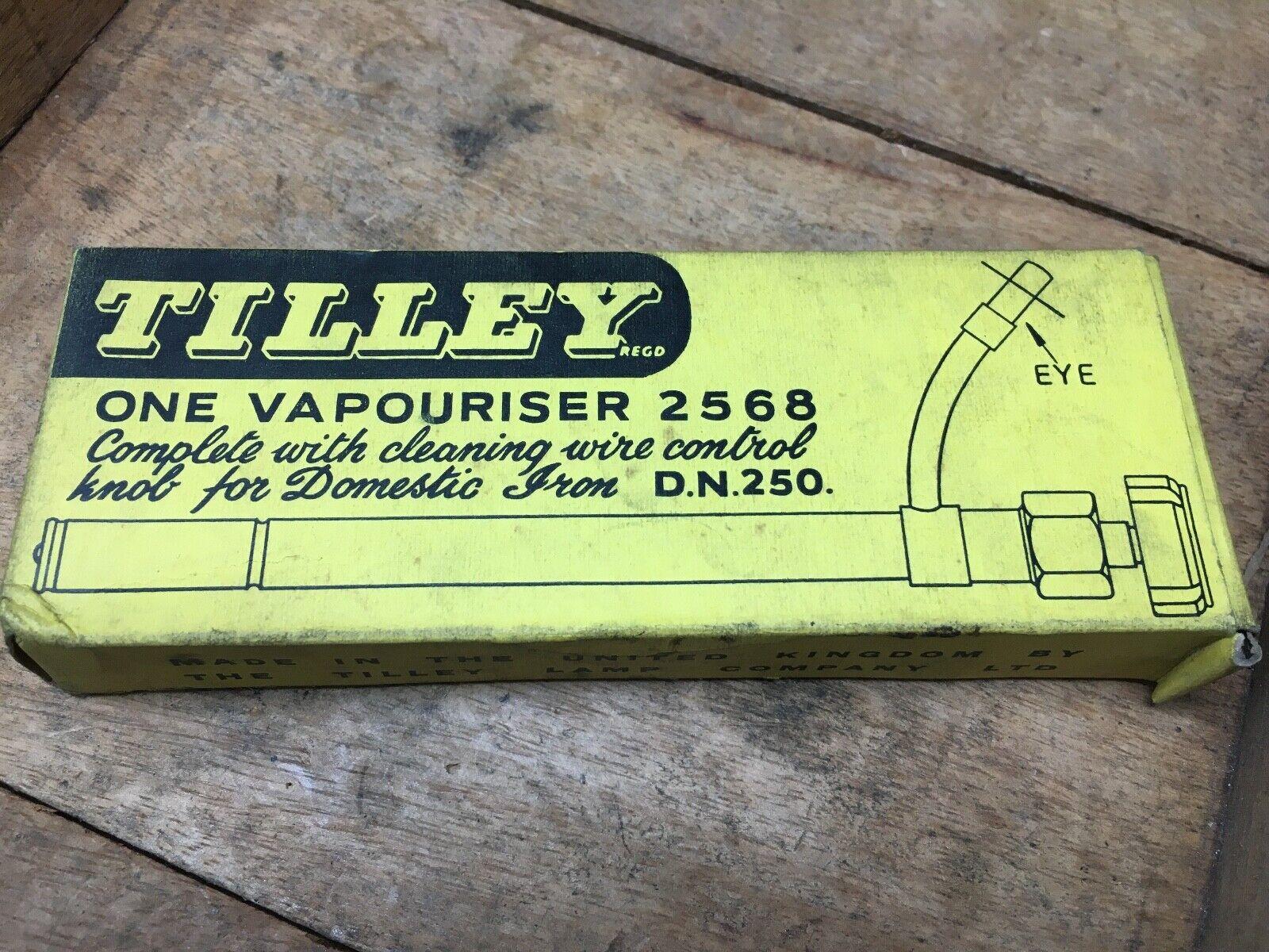 Vintage Nos Tilley Lampada 2568 Vaporizzatore per Dn250 Domestic Ferro Paraffina