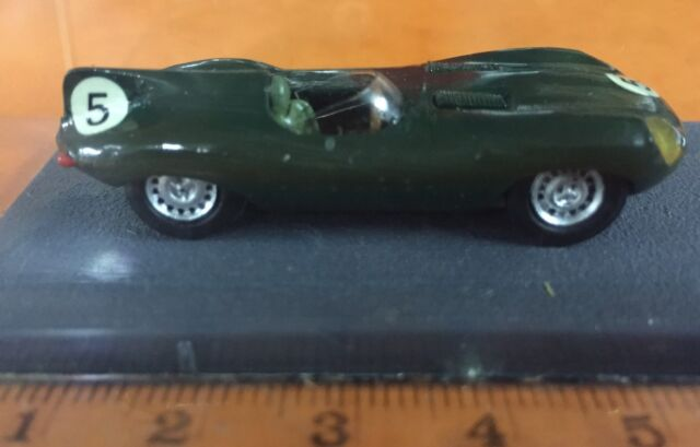 Jaguar Type D 24h Mans Piccolino Racing Car Models Diecast Miniature Rare 70/80'