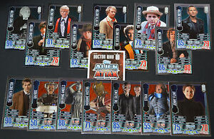 Assorted Anniversary TOPPS ALIEN ATTAX Doctor Who 50th