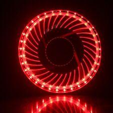 33 RED LED Light 120mm 25mm DC 12V 42CFM PC Computer Case Cooler Cooling IDE fan