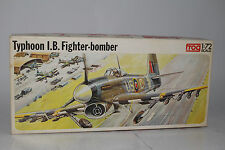 Frog United Kingdom Military Typhoon I.B. Fighter Bomber, 1:72 SCALE, BOXED