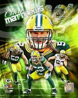 Clay Matthews 8x10 Color Photo Picture Collage Green Bay Packers
