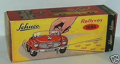 Repro Box Schuco Rollyvox 1080 Farben Sind AuffäLlig Autos & Lkw Blechspielzeug