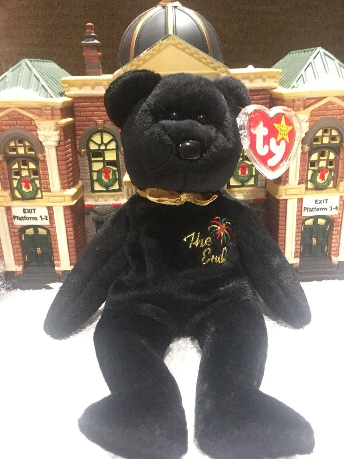 THE END TY Beanie Baby Very Rare W Errors